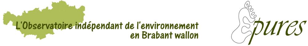 L'Observatoire indépendant de l'environnement en Brabant wallon.